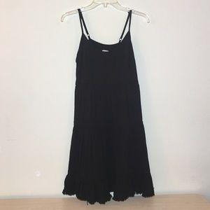 Mossimo Tiered Black Swing Dress